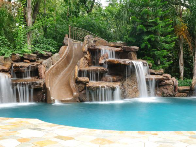 inground pools with rock waterfalls. Pool 46 Inground Pools With Rock Waterfalls E